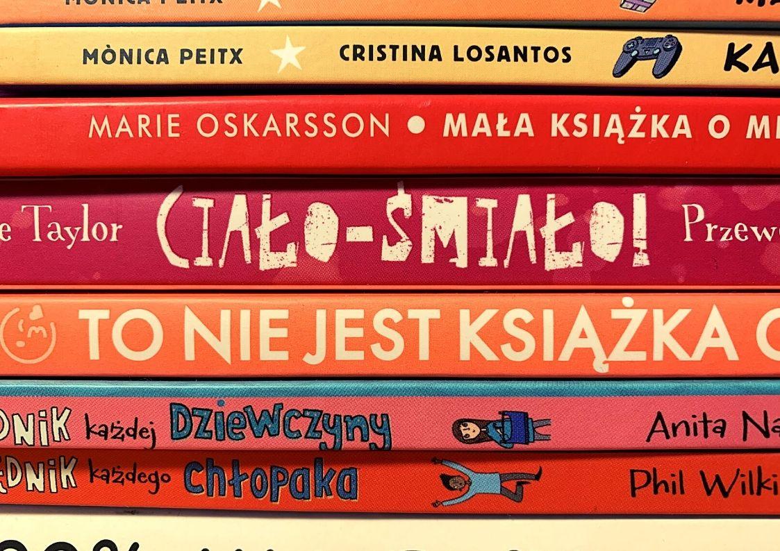 5 książek o dojrzewaniu dla nastolatków